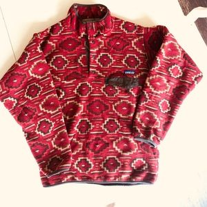 Patagonia Synchilla limited edition Aztec fleece